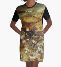 The Triumph of Death Graphic T-Shirt Dress