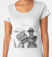 Alien: Who walks whom? Women's Premium T-Shirt