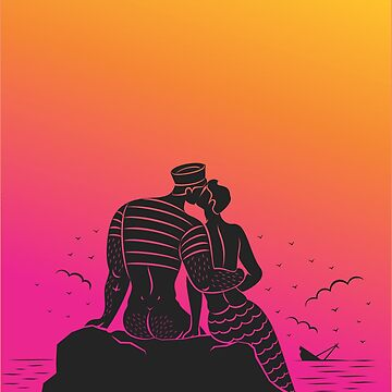 love on the rocks - sunset by qkingofdiamonds