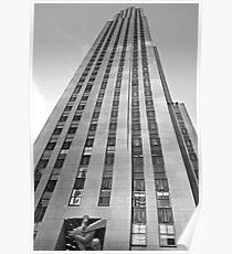 Rockefeller Center 30 Rock v2  Poster