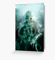 Cthulhu fhtagn Greeting Card