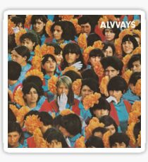 Alvvays - Album Cover Sticker