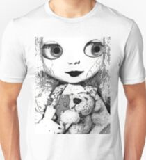 Wide Eyed (Haunted Doll Series) T-Shirt