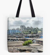 Mumbai, city of contrasts Tote Bag