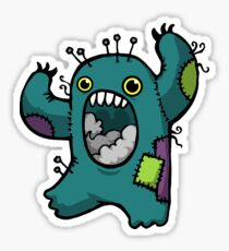 Sewing Monster Sticker