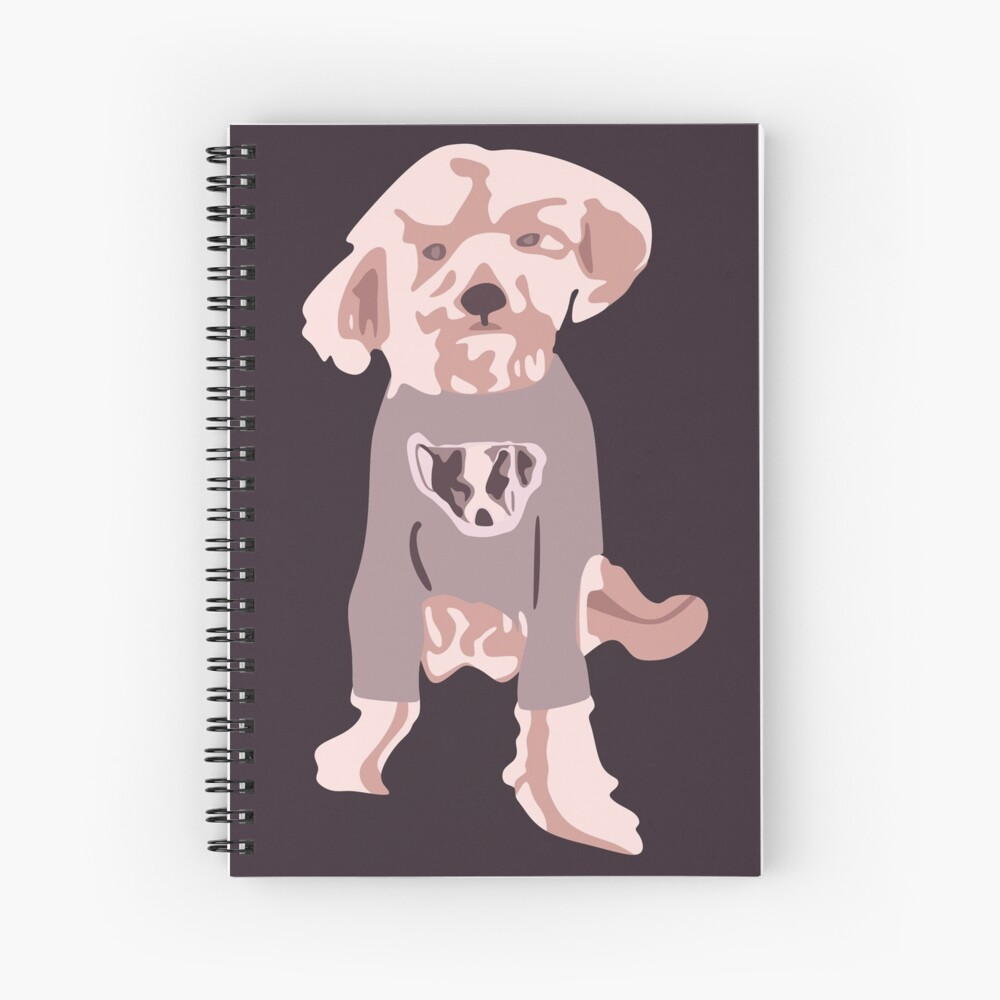 Ellen DeGeneres - The Ellen Show Dog Tee Cuaderno de espiral