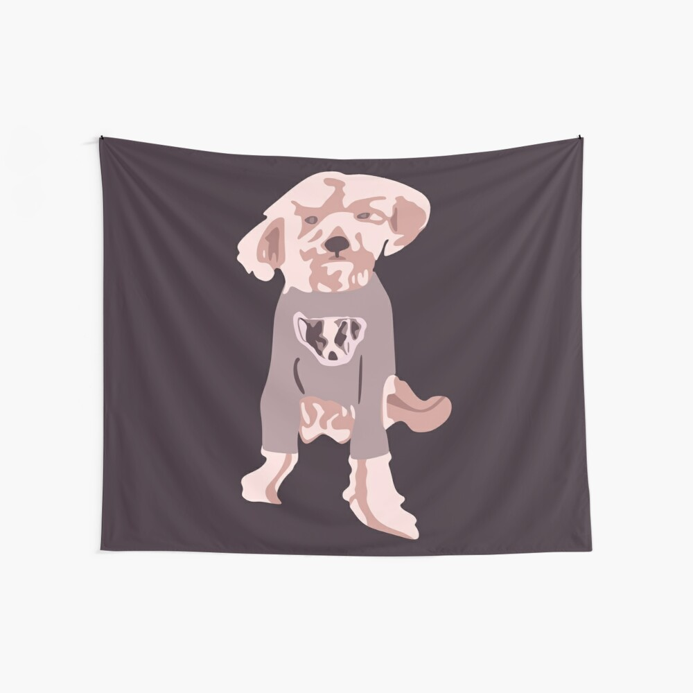 Ellen DeGeneres - The Ellen Show Dog Tee Tela decorativa