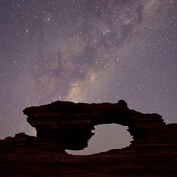 Starry Night, Kalbarri NP, Australia by kasianowak