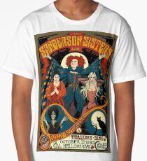 Sanderson Sisters Vintage Tour Poster Long T-Shirt