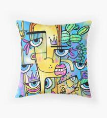 Funky Me Throw Pillow e6583518b