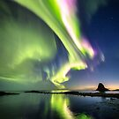 Northern Lights at its brightest by Frank Olsen