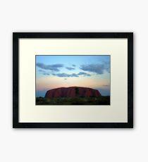 Uluru Sunrise Framed Print