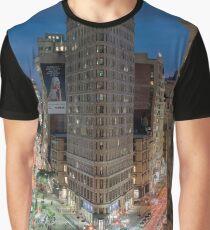 Flatiron Building, Study 7 Graphic T-Shirt