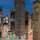 Flatiron Building, Study 7 by Randy  LeMoine