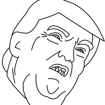 Trump Funny Face  by DingoKingo