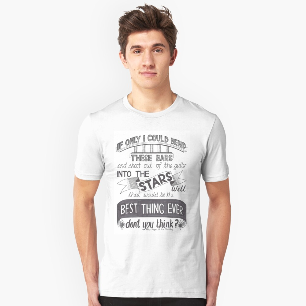 Felix hagan the family best thing ever slim fit t shirt