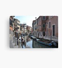 Canal in Dorsoduro, Venice Canvas Print