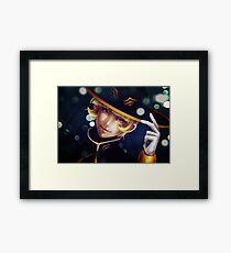 Sorin Otomo: Festival Lights Framed Print