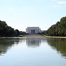 Reflections on Lincoln Memorial by CBenson