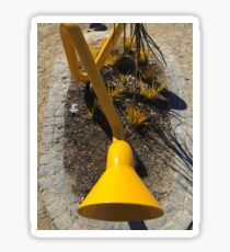 Yellow Speaker Sticker