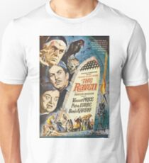 The Raven - Vincent Price, Boris Karloff. Unisex T-Shirt