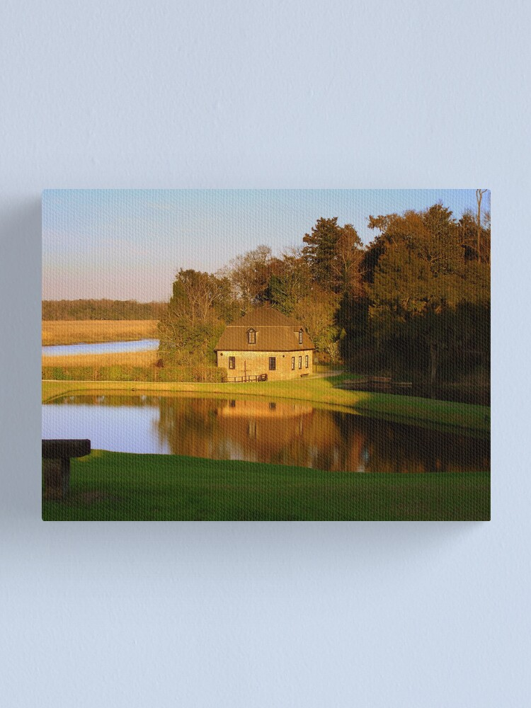 Alternate view of Rice Mill Canvas Print