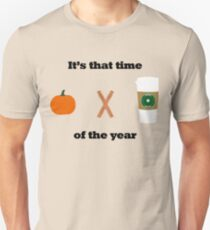 Pumpkin Spice Latte [That Time of the Year] T-Shirt