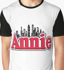 Annie Musical Logo Graphic T-Shirt