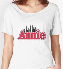 Annie Musical Logo Women's Relaxed Fit T-Shirt