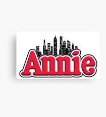 Annie Musical Logo Canvas Print