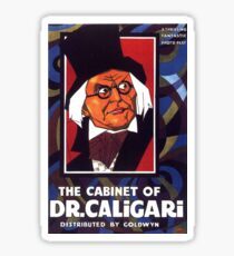 The Cabinet Of Doctor Caligari. Sticker