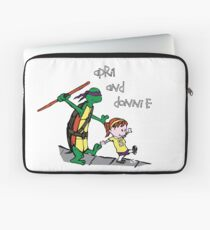 April and Donnie Laptop Sleeve