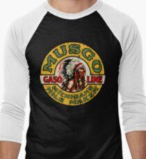 Musgo Gasoline Men's Baseball ¾ T-Shirt