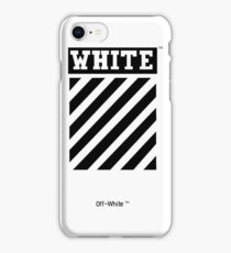 OFF-WHITE (High resolution) iPhone Case/Skin