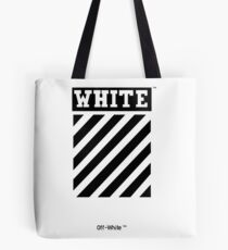 OFF-WHITE (High resolution) Tote Bag