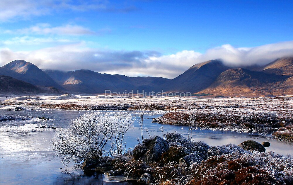 Lochan na h-Achlaise - Black Mount 3b by David Hutcheson