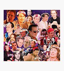 Steve Buscemi Galaxy Collage Photographic Print