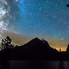 Magical Colorful Grand Teton Night by Bo Insogna