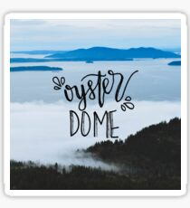 Oyster Dome Handwritten I Sticker