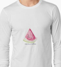 one in a melon watercolor watermelon T-Shirt
