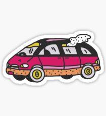 declan mckenna car Sticker