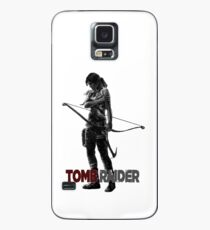 Tomb Raider Grey Case/Skin for Samsung Galaxy