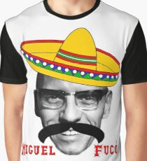 Michel Foucault el mexicano Graphic T-Shirt