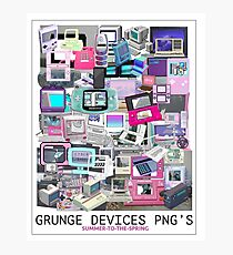 GRUNGE-DEVICES Photographic Print