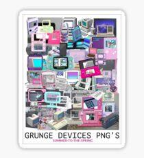 GRUNGE-DEVICES Sticker