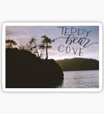 Teddy Bear Cove  Sticker