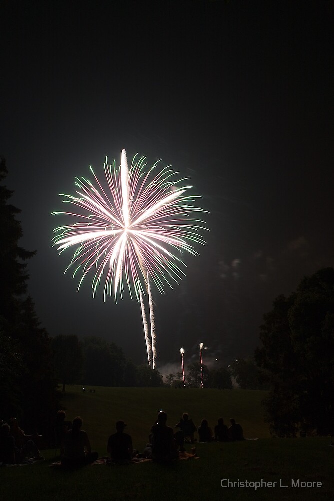 Fireworks 4 by Christopher L. Moore