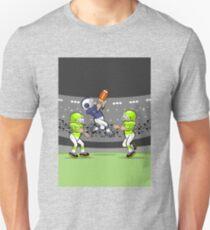 Football player sensational jump Unisex T-Shirt