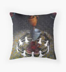 Sideshow Throw Pillow