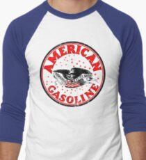 American Gasoline Men's Baseball ¾ T-Shirt